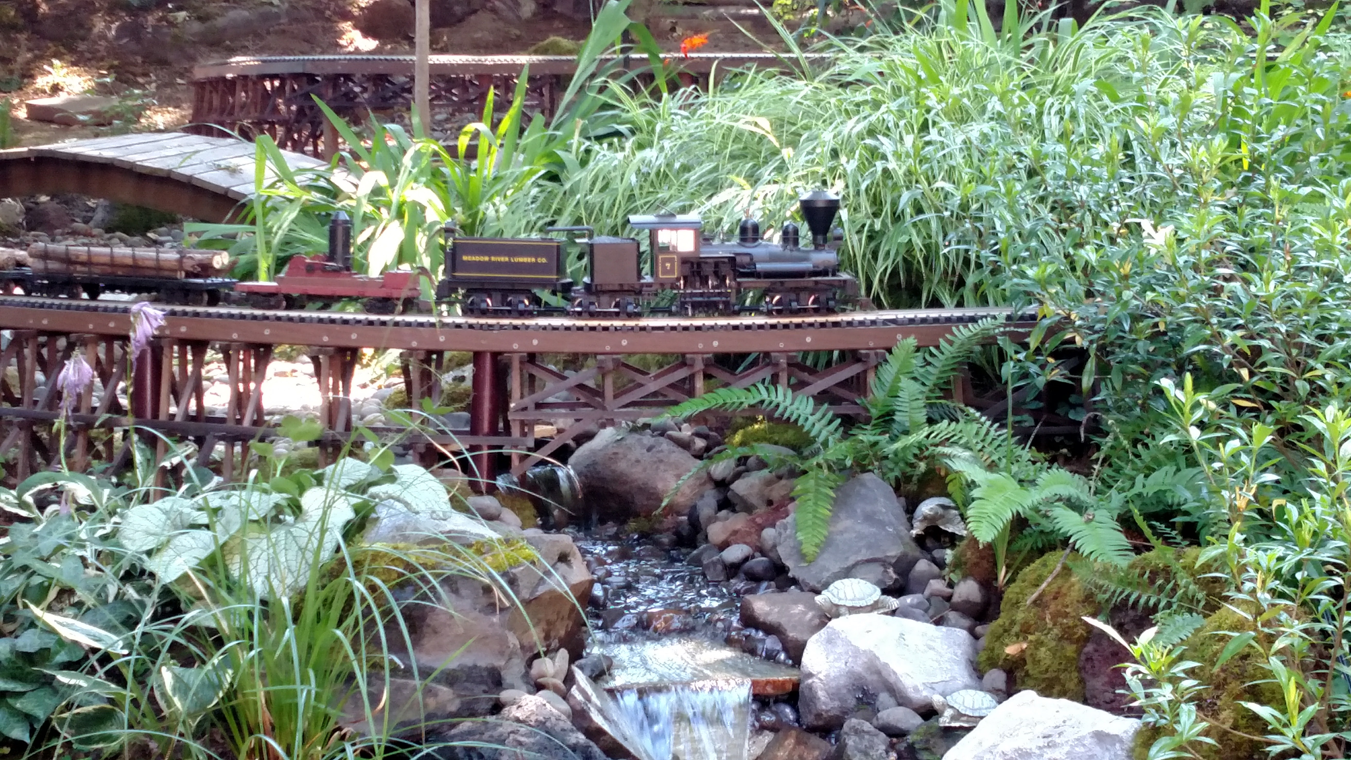 Lazenby Backyard Railroad
